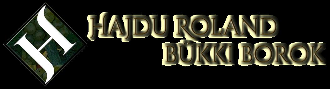 Hajdu Roland bükki borok Logo