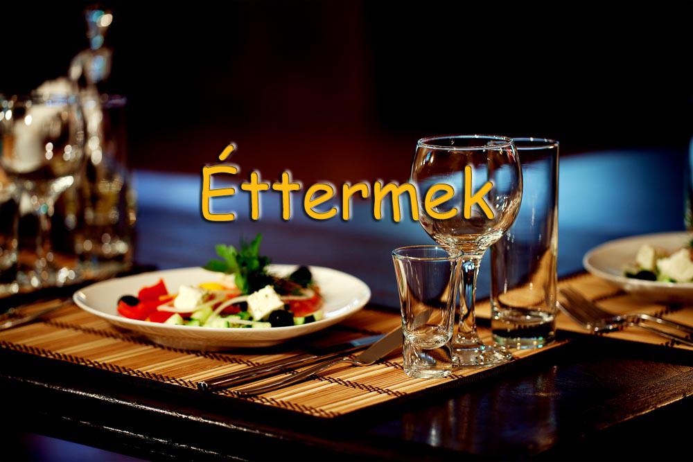 Éttermek